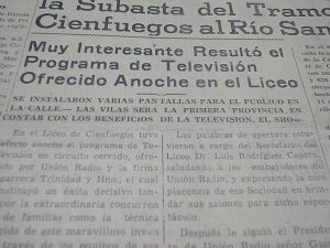 Titular del periódico El Comercio