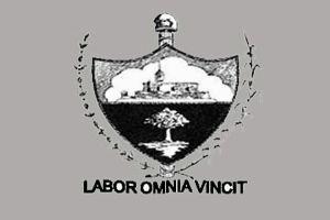 Propuesta de nuevo escudo aprobada por las autoridades locales en 1910.